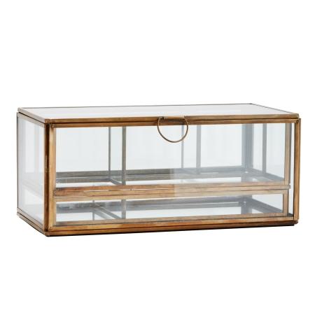 Glasskrin med bakker