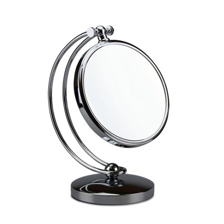 Stort bordspejl med forstørrelse