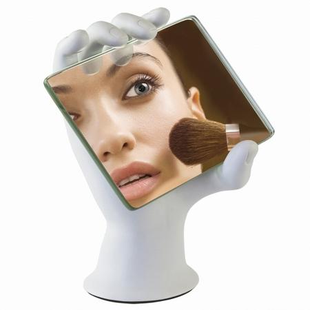 Spejl og h�nd