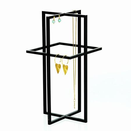 Smykkeholder - Square cross tall