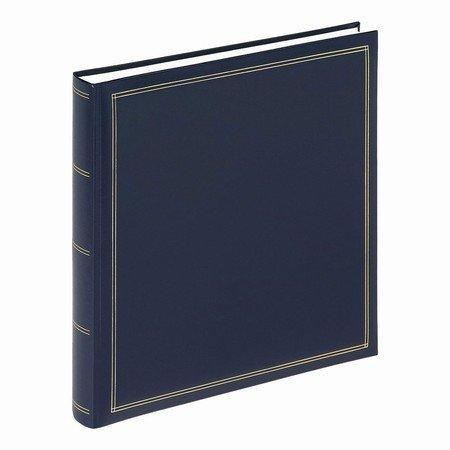Stort album med blanke sider - blå
