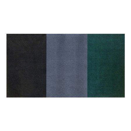 Tæppe Green Stripe 60x85 cm
