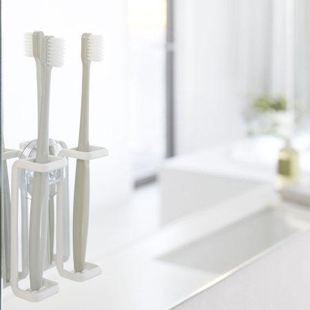 Tandbørste holder med sugekop - 2 stk.
