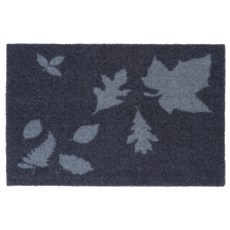 Tica Cph dørmåtte - Mega Leaves blå/grå 40x60 cm