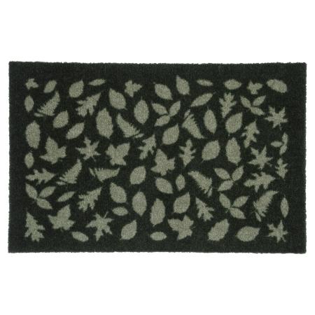 Tica Cph dørmåtte - Leaves grøn 40x60 cm