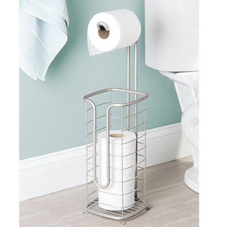 Fritstående toiletrulleholder med reserve