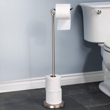 Toiletrulleholder til gulv - Tucan