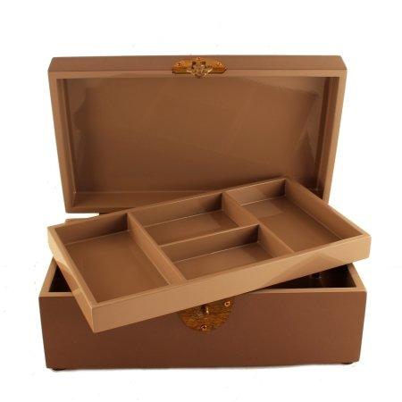 Smykkeskrin - dust brun
