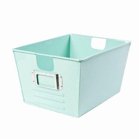 Opbevarings kasse - turkis