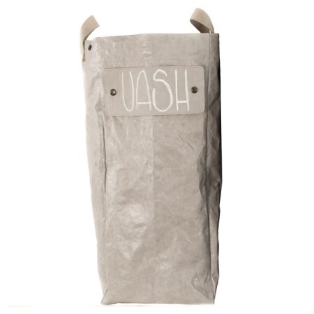 UASHMAMA vasketøjskurv LUX - grå