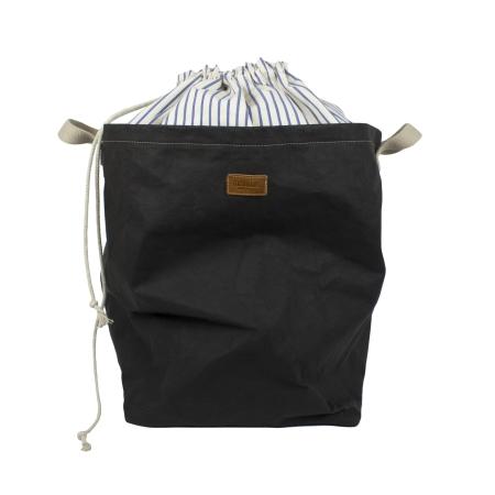 Vasketøjskurv Positano - sort