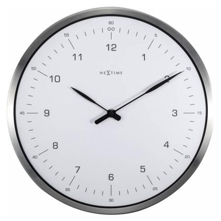 Vægur 60 minutes - hvid