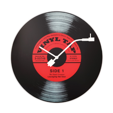 Vægur LP plade - Vinyl Tap