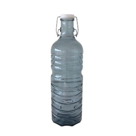 Flaske af genbrugsglas