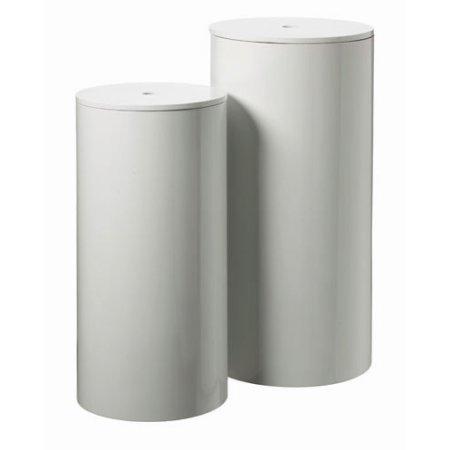 Vasketøjskurv hvid - small