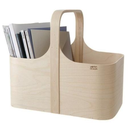 Magasinholder birke træ - Verso Design