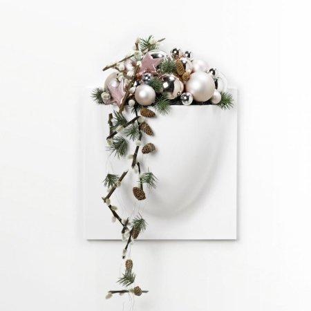 VertiPlants vægkrukke mini - Hvid
