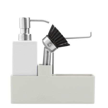 Zone Opvaskesæt - lys grå