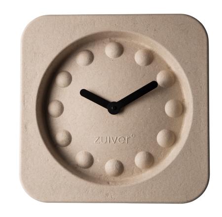 Pulp Time vægur - natur firkantet
