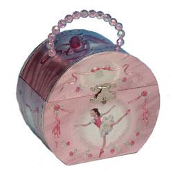 Smykketaske med ballerina
