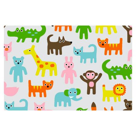 Skrivebordsunderlag - Tiny Zoo