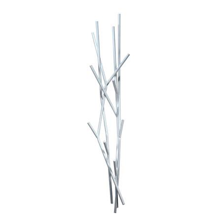 Grenet knager�kke - hvid
