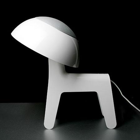 Dog lamp - hvid