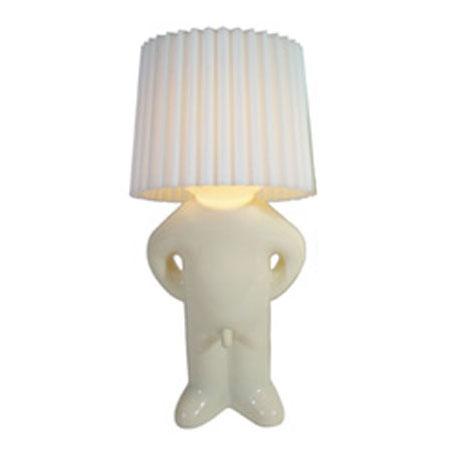 Mr. P lampe - one man shy (hvid)
