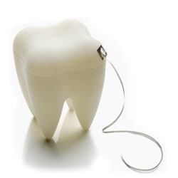 Tooth Dental Floss - tandtr�d