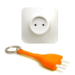 Unplug - n�glering (orange)