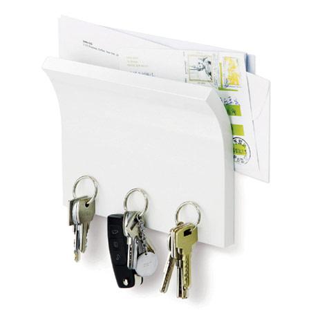 Nøgleholder - hvid