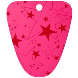 N/A Boot support - pink med stjerner (tica) på fenomen