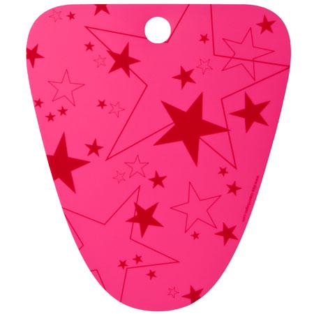 Boot support - pink med stjerner (Tica)