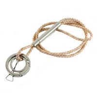 N/A Verivinci nøglekæde - lys læder fra fenomen