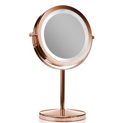 house doctor – Makeup spejl på fod rosaguld - forstørrelse x 10 på fenomen