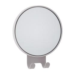 Image of   Rund spejl med knager