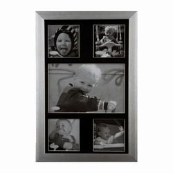 Image of   Alu fotoramme til 5 billeder