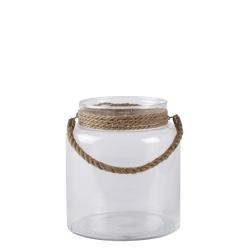 Glas lanterne med reb - small fra pappelina på fenomen