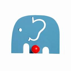 franck & fischer Elefant knage - blå på fenomen