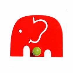Elefant knage - rød fra franck & fischer fra fenomen