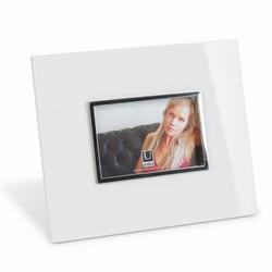 Image of   Fotoramme - højglans hvid 10x15 cm