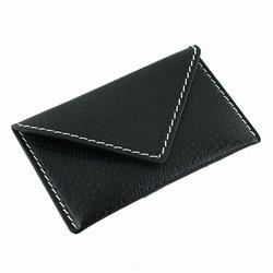 applicata Visitkortholder / kreditkortholder - sort læder fra fenomen