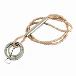 Verivinci nøglekæde - lys læder fra verivinci fra fenomen