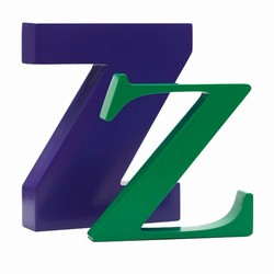 Image of   Bogstav Z - lilla