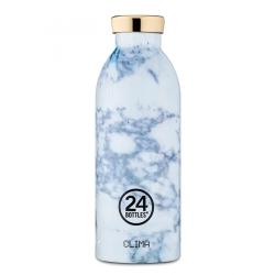 Clima thermoflaske 24bottles - hvid marmor fra 24bottles på fenomen