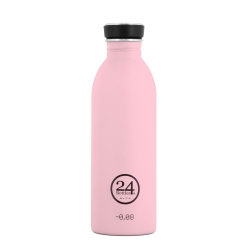 Urban drikkeflaske - candy pink fra 24bottles fra fenomen