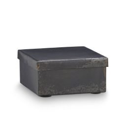 Image of   Metal box med låg - small