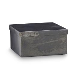 h. skjalm p – Metal box med låg - medium på fenomen