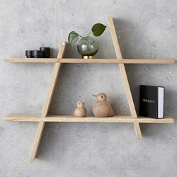 andersen furniture A-shelf hylder i egetræ - large fra fenomen