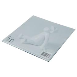 Image of   Fotoramme med magnet 10x10 cm - akryl